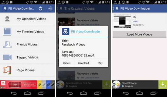 aplikasi Video Downloader for Facebook