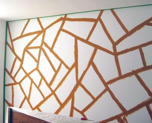 Cara Membuat Wallpaper Dinding Geometri Sendiri Dirumah