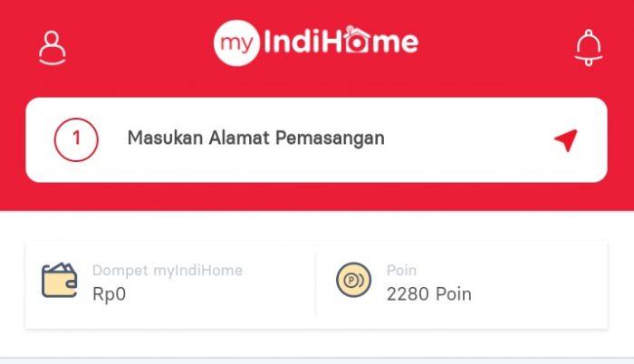 Gambar Cara Cek Kuota Internet dengan Aplikasi MyIndihome
