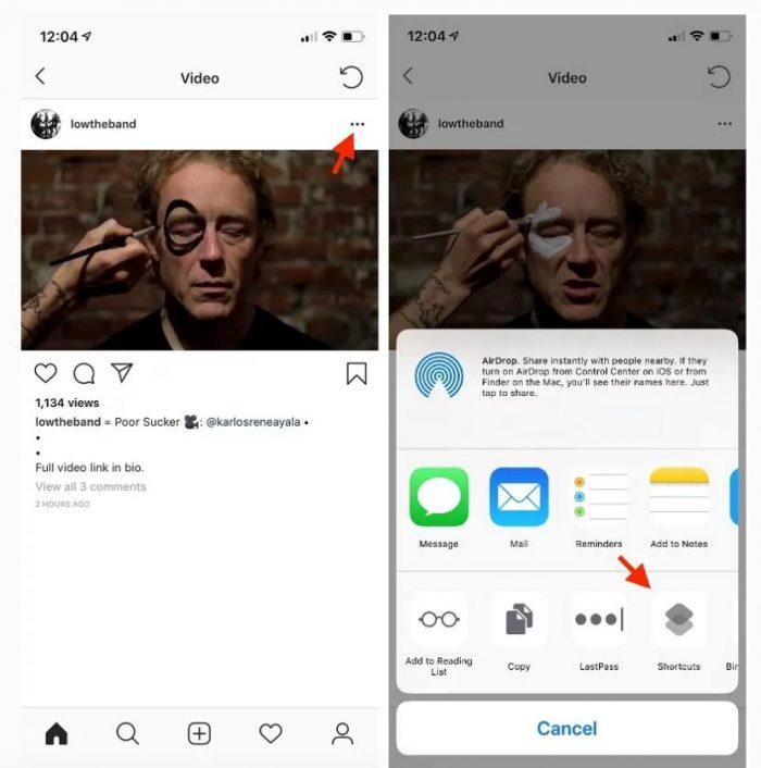 Langkah 2 Cara Download Video di Instagram Iphone