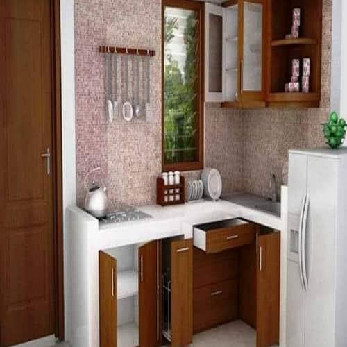 desain dapur tanpa atas