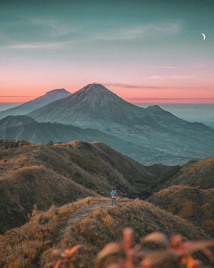 wisata alam pendakian gunung prau