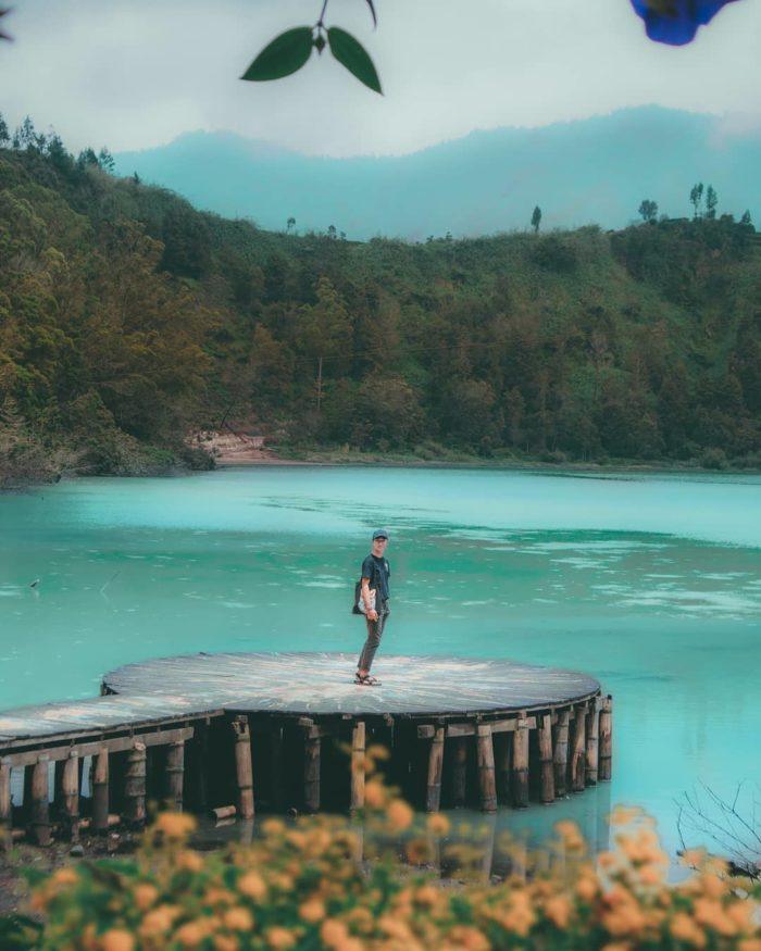 wisata alam telaga warna